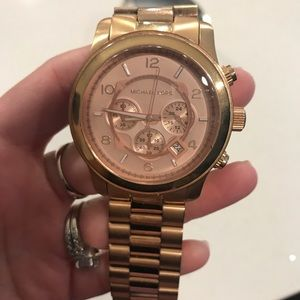 Accessories - Michael Kors Watch Rose Gold